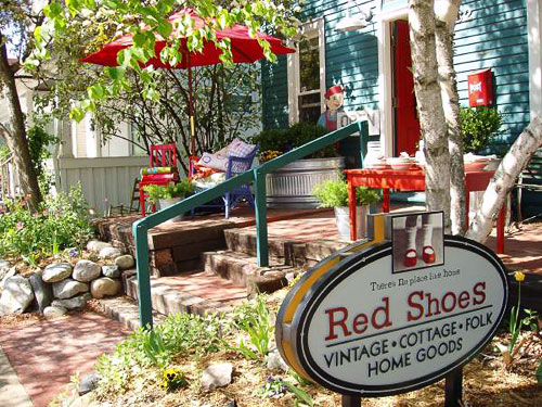 There's No Place Like Red Shoes | The most welcoming storefront on the planet. (Photo by Catherine Thursby)