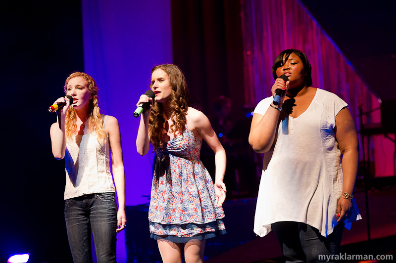 FutureStars 2012 | Adriana Ellis with Natalie White and Tionna Griffin in the Dixie Chicks' heartbreaking ballad Travelin' Soldier.