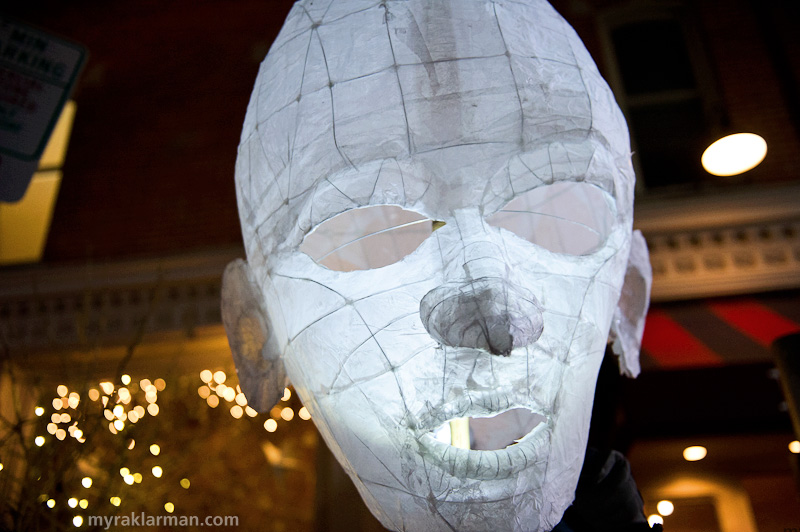 FoolMoon 2012 | One of artist Gretchen Adracie's gorgeous luminaries.