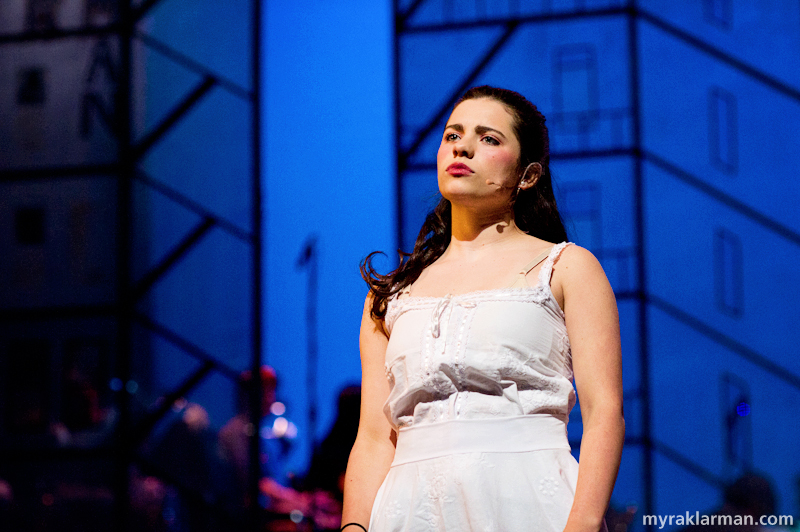 Pioneer Theatre Guild: West Side Story | Maria (Clare Higgins) is impatient to start her life as a young woman in America.