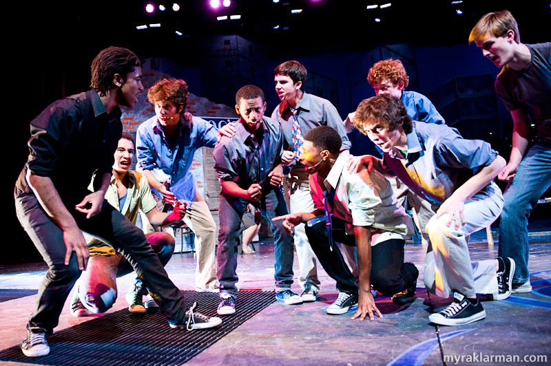 "Pioneer Theatre Guild: West Side Story | The Jets are hot in ""Cool."""