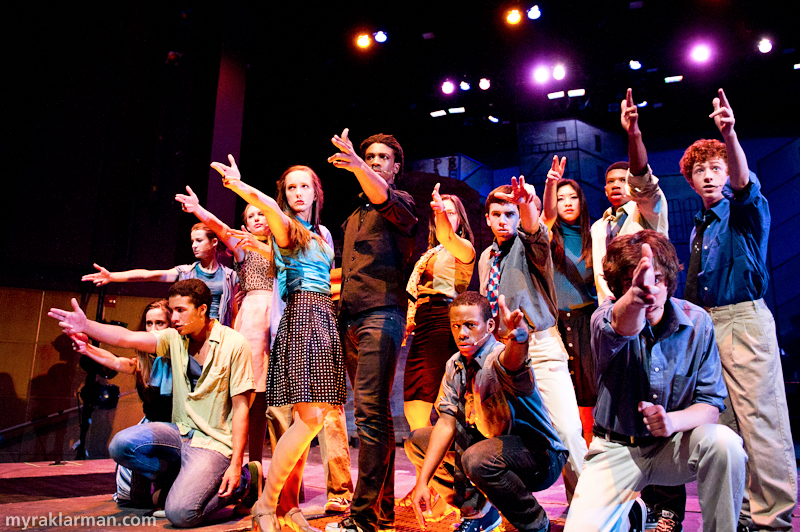 "Pioneer Theatre Guild: West Side Story | The end of ""Cool"" — pow!"