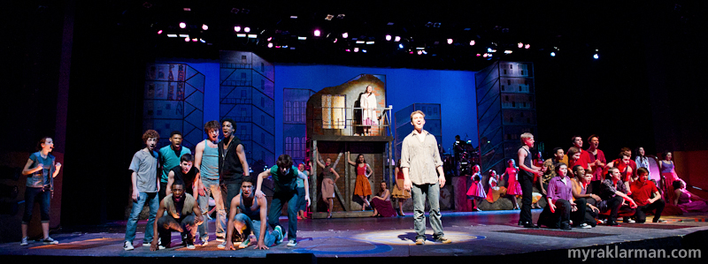 "Pioneer Theatre Guild: West Side Story | The Jets and Sharks (and their girls) in ""Tonight."""