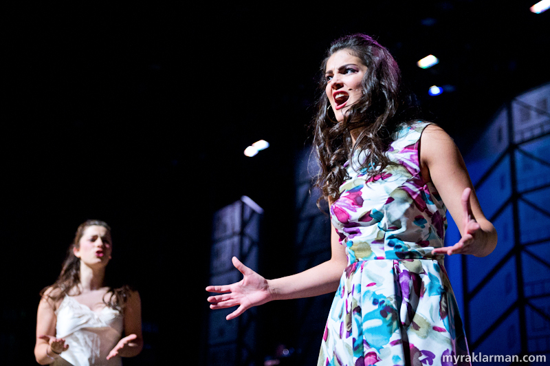 "Pioneer Theatre Guild: West Side Story | Anita in ""A Boy Like That."" (Carly Paull-Baird)"