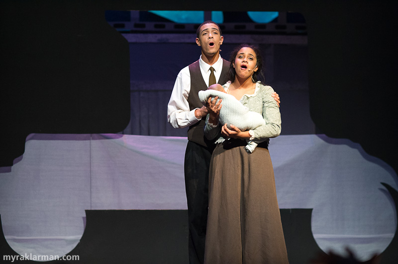 "Pioneer Theatre Guild: Ragtime | Coalhouse and Sarah: ""Wheels of a Dream"" (Tre Brown and Sina Webster)"