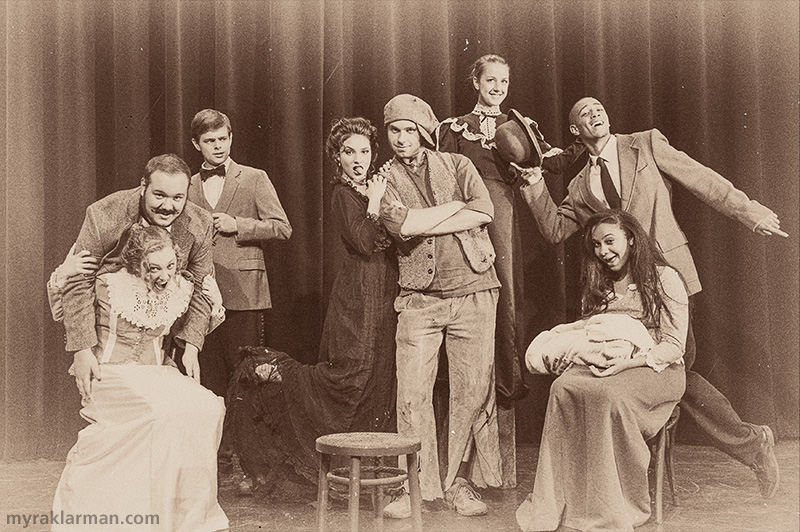 Pioneer Theatre Guild: Ragtime | Crazy-face out-take from the publicity shoot