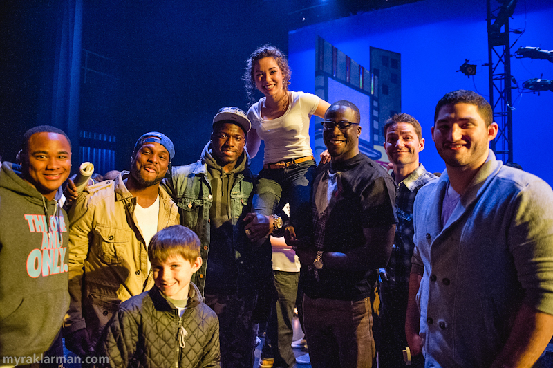 FutureStars 2013 | 2013 FutureStars winner Eliza Stein with judges and friends: (l-r)