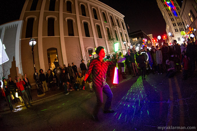 FoolMoon 2013 | We never know who is going to come to FoolMoon to dazzle the crowd with light.