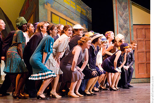 Pioneer Theatre Guild: Thoroughly Modern Millie | Finale — Cast