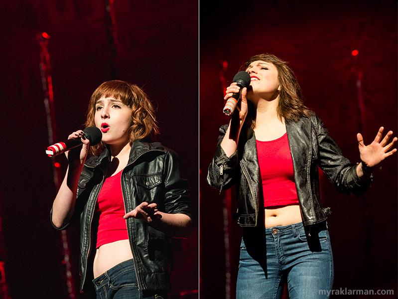 "FutureStars 2014 | Soulful singers Alexa Zielinski and Olivia Roumel rocked Alannah Myles' ""Black Velvet."""