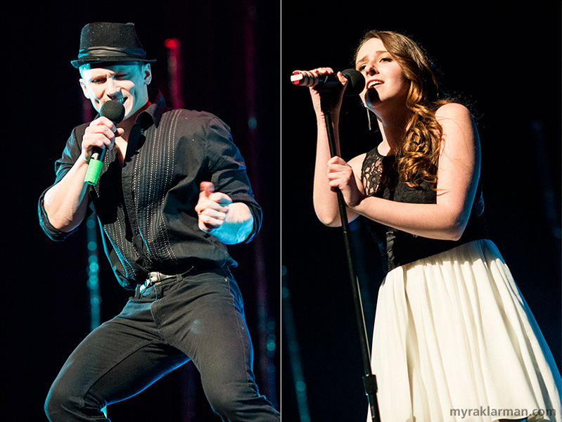 "FutureStars 2014 | (Top-6 finisher) Pioneer senior and FutureStars newcomer Thad Stalmack II gave more than 100% with Prince's ""Kiss."" 