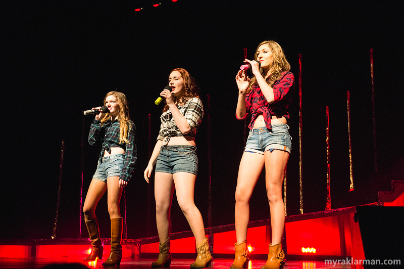 "FutureStars 2014 | Ivy Gleason, Emma McGlashen, & Alexa Zielinski's harmonies were spot-on in Pistol Annies' ""I Feel A Sin Coming On."""