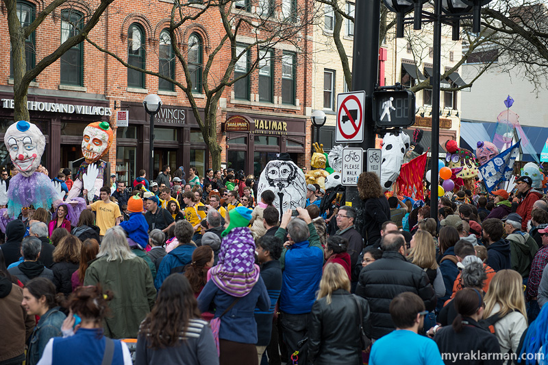 FestiFools 2014 | It's okay for the crowds to dwarf the puppets. We can hang with that.