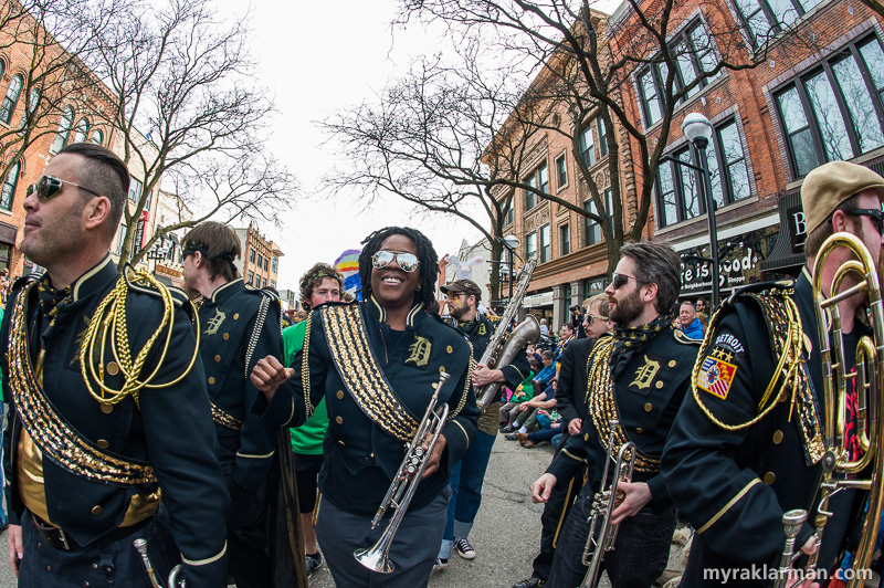 FestiFools 2015 | The Detroit Party Marching Band had FestiFools bumpin' and jumpin', singin' and swingin' — in the key of D-sharp major!