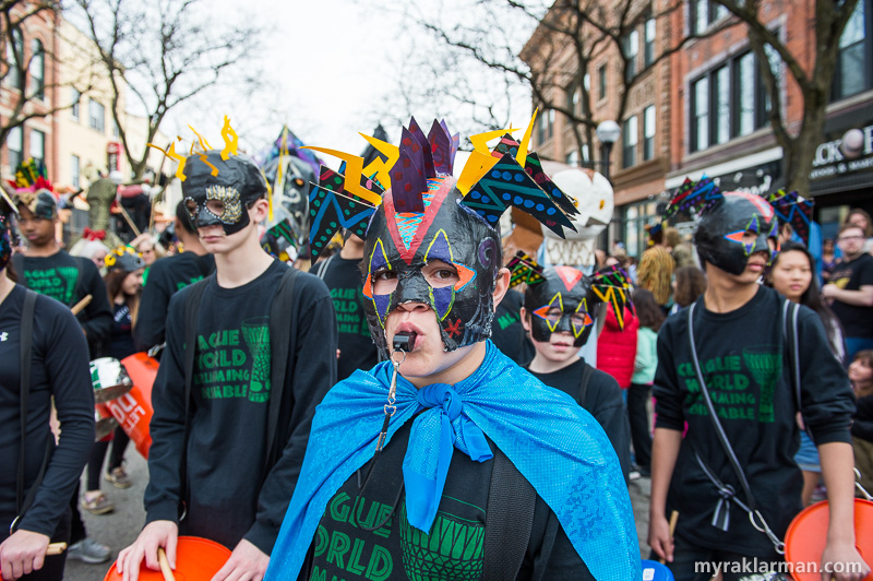 FestiFools 2015 | Eighth-grade music and art students from Clague Middle School brought their — wait for it… — music and art to FestiFools for a third year. We hope this tradition continues!