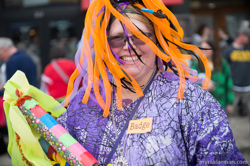 FestiFools 2015 | Juli Pinsak got badged!