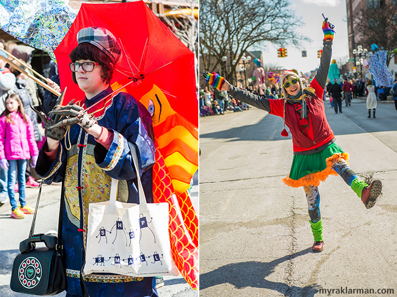 FestiFools 2016 | Right: WonderFool Productions board member Gretchen Adracie.
