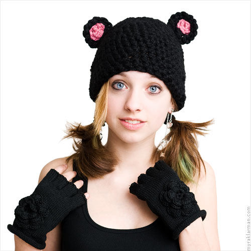 Mice + Bears + Frogs! Oy Veh! | Crocheted Mouse Hat