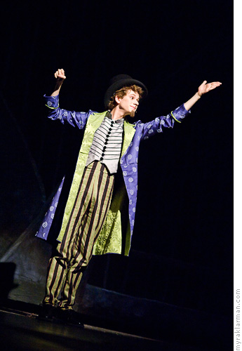 Pioneer Theatre Guild: WillyWonka | Willy Wonka (Max Rasmussen) was portrayed deliciously with equal portions of deviousness and charm.