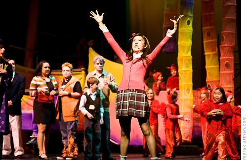 Pioneer Theatre Guild: WillyWonka | Veruca Salt (Ashley Park) wants it all!