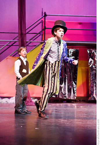 Pioneer Theatre Guild: WillyWonka | Charlie's moment of truth.