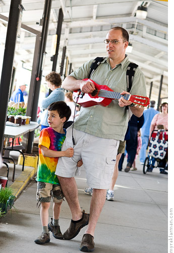 Kerrytown Motherfest 2008 | My boys serenaded all the moms.