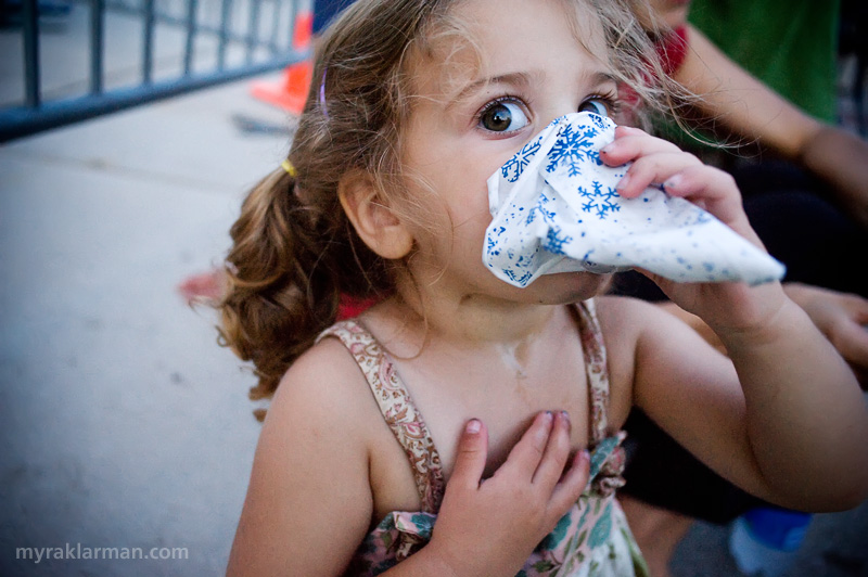 Ann Arbor Summer Festival 2008 | Festival = Sno-Cones. This little one couldn't get enough of either.