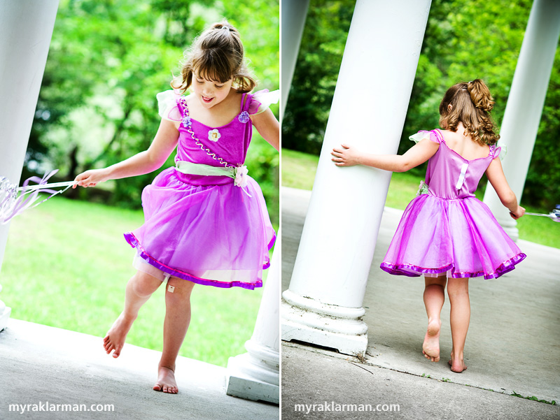 Make-A-Wish: The Princess and the Frog | Swirls and curls in The Castle's ballroom.