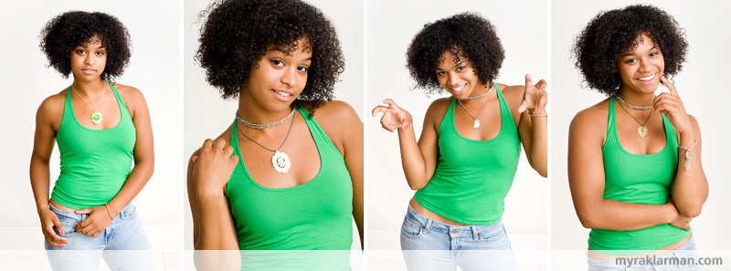Shana Logic Loves Sadie | Sadie shows the general size and fit of a selection of necklaces.