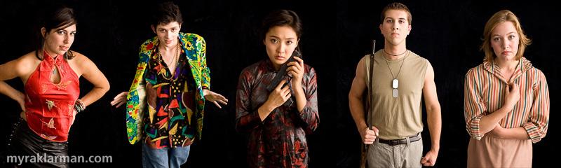 Pioneer Theatre Guild: Miss Saigon (PublicityShoot) | Pioneer Theatre Guild, Miss Saigon, © 2008 Myra Klarman
