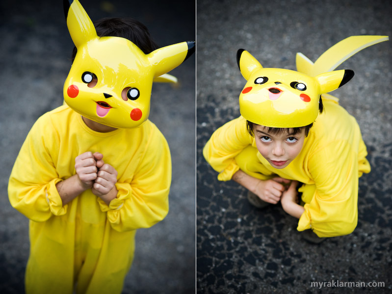 Halloween 2008 | Pikachu, I see you!