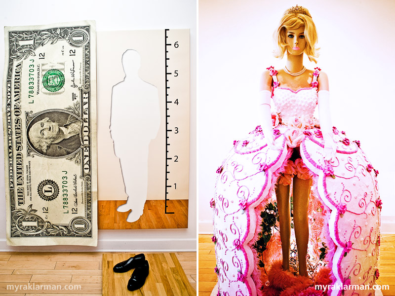 Gallery Project: Step Right Up! | Larger Than Life (Paul Marquardt) | A Feminine Mystique (Julie Renfro + Mike Sivak)