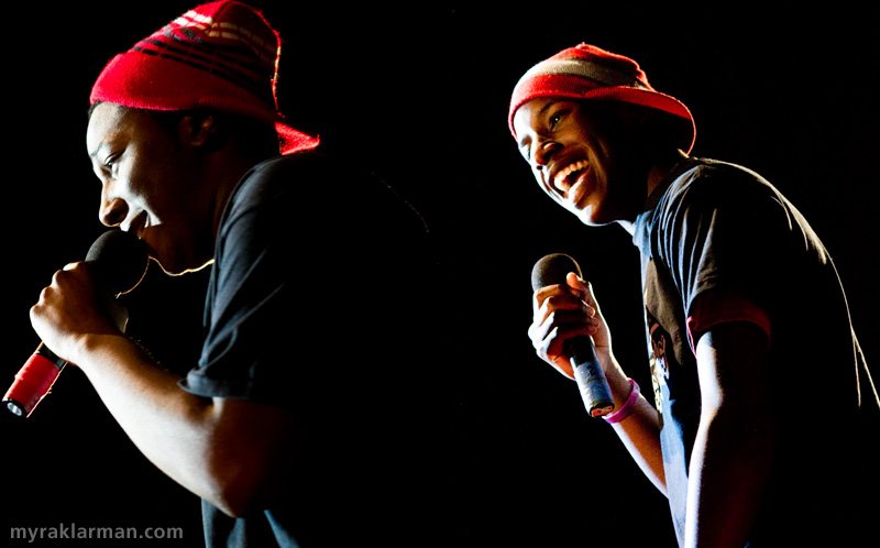 FutureStars 2010 | Top-6 finisher, rap duo Anthony Porter and Mani Herring (Dark Side Boys) performing Smooth Criminal.
