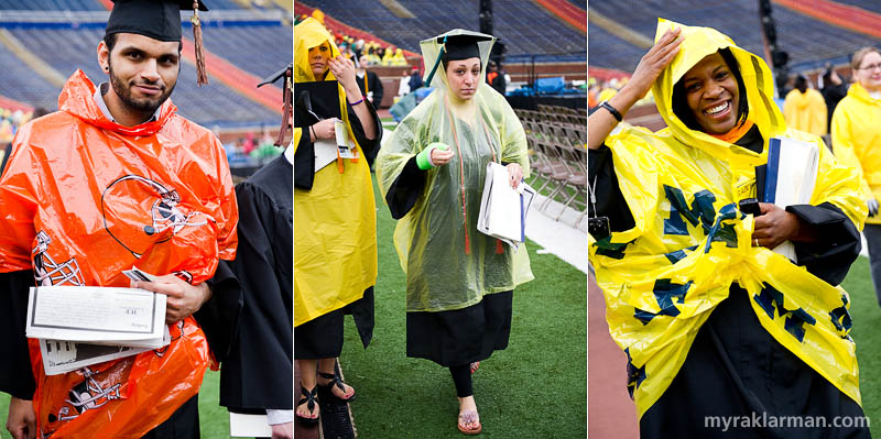President Obama @ UM Commencement 2010 | The latest in poncho couture