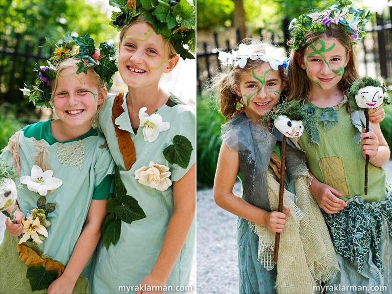 Shakespeare in the Arb: A Midsummer Night's Dream | Children and young friends of the cast made cameo appearances as fairies.