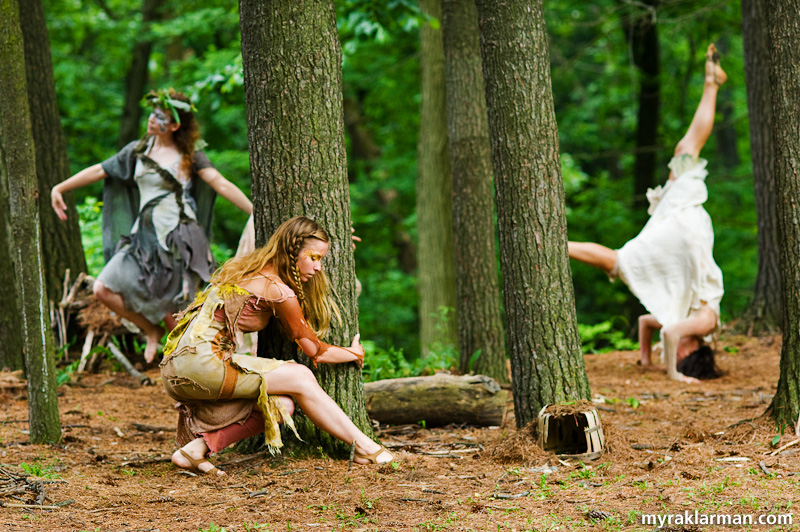 Shakespeare in the Arb: A Midsummer Night's Dream | One of my favorite scenes: the fairies frolicking among the pines.