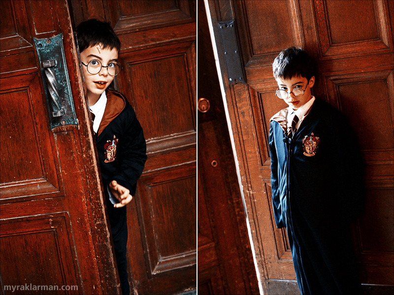 Halloween 2010 | Harry contemplates the great wizards and witches who have walked through Hogwarts' hallowed doors over the centuries.