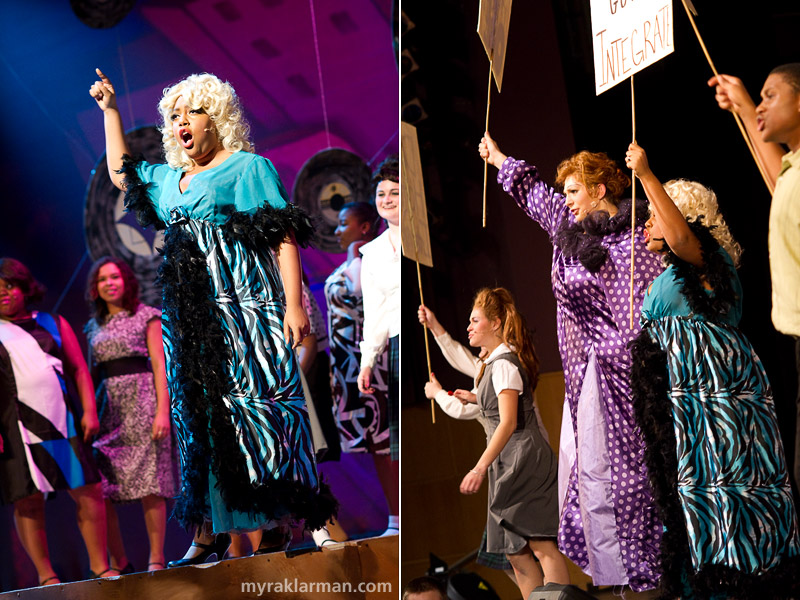 "Pioneer Theatre Guild: Hairspray | Motormouth Maybelle (Lauren Victor) wants everyone to know that she's ""Big, Blond, and Beautiful."" 