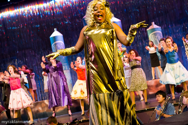 "Pioneer Theatre Guild: Hairspray | Motormouth Maybelle (Lauren Victor) in ""You Can't Stop the Beat."""