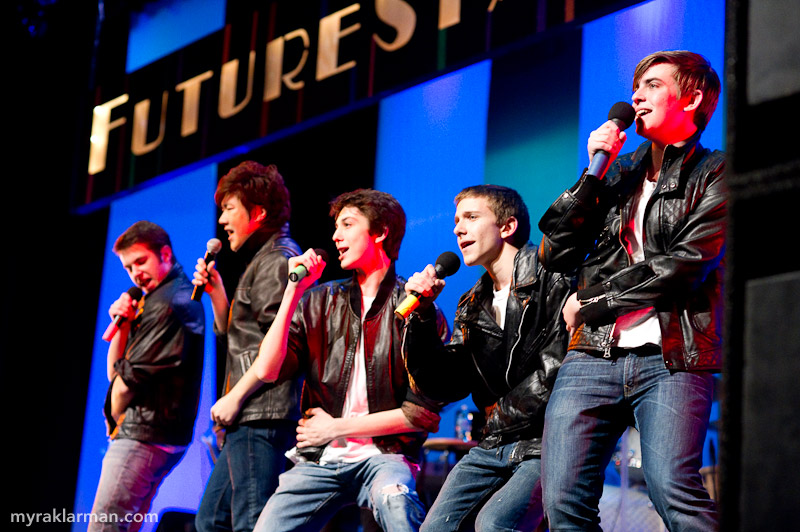 FutureStars 2011 | Hank Miller, Ray Hong, Russell Norris, Gabe Novak, and Schuyler Robinson wooed the entire audience and broke into the Top 5 with Misery.