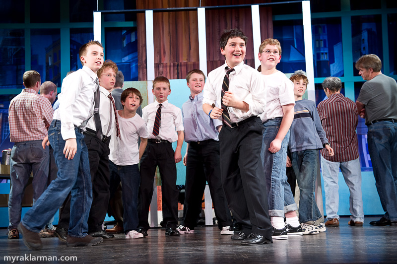 Burns Park Players: Getting Ready to Succeed! | The way the fifth grade boys are incorporated into their number is absolute genius. But don't take my word for it!
