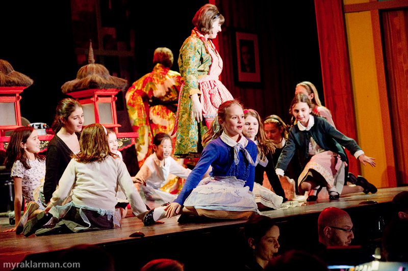 Burns Park Players: How To Succeed In Business Without ReallyTrying | The fifth-grade girls are lovely in Happy to Keep His Dinner Warm (reprise).