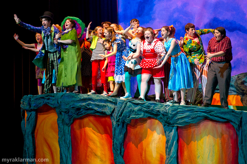 Pioneer Theatre Guild: Seussical | Let's get a closer look at the terrified Whos on the brink of peril.