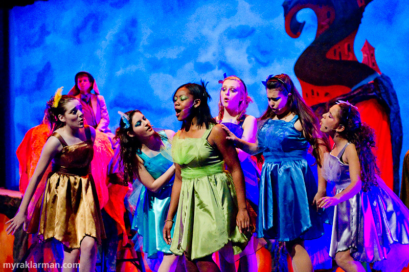 Pioneer Theatre Guild: Seussical | A closer look at the lovely Bird Girls.
