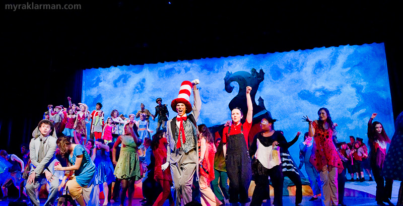Pioneer Theatre Guild: Seussical | I'm not going to give away how it happens, but, suffice it to say, everyone rejoices as the Whos are saved!