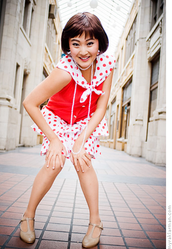 Pioneer Theatre Guild: Thoroughly Modern Millie (PublicityShoot) | Millie Dillmount (Ashley Park) has arrived in the big city.